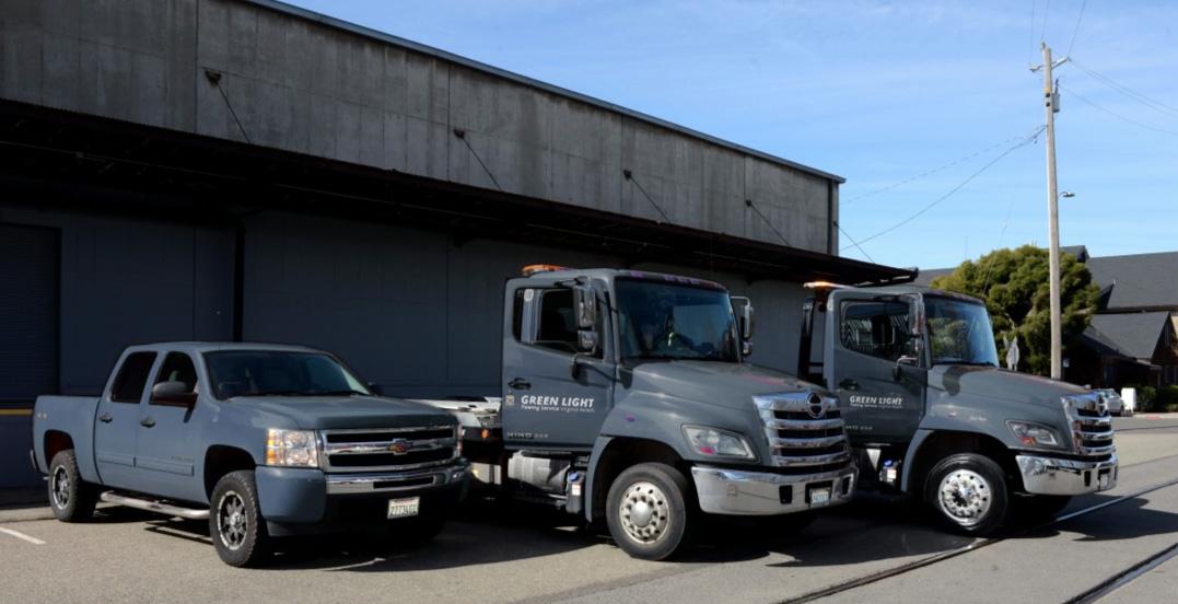 Green Light Towing Trucks - Virginia Beach