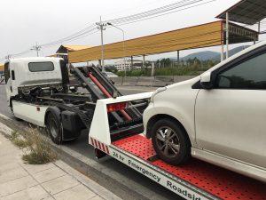 long distance car towing